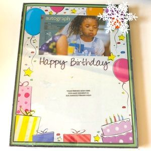 🖼 Happy Birthday autograph frame